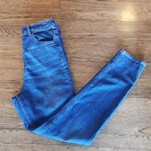 ASOS Denim Hi-Rise Whiskered Jeans 30*36